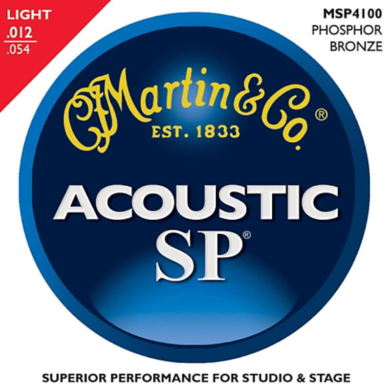Martin SP Phosphor Bronze MSP4100(012-054) String - 3 Pack