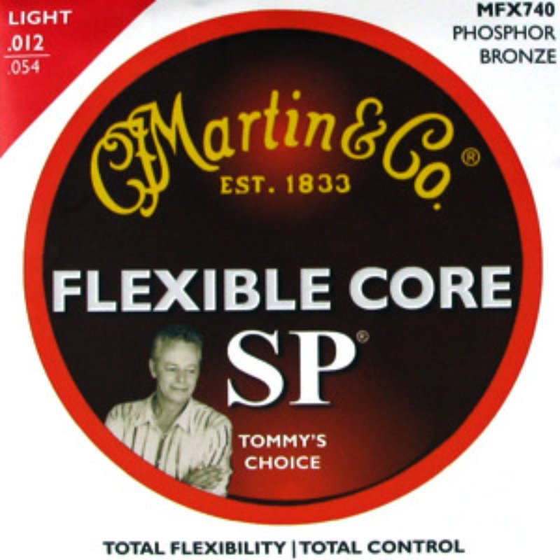 Martin Acoustic MFX740 Strings Light(012-054) - Phosphor Bronze