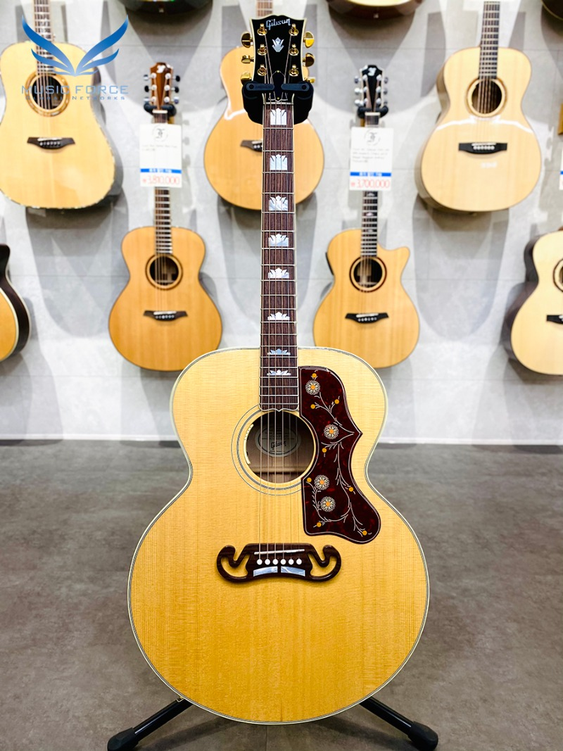 [파이널세일(~12/31까지)] Gibson Montana 2019 Model SJ-200 Standard Antique Natural w/Gold HW(신품) 깁슨 SJ200 스탠다드 - 12639001