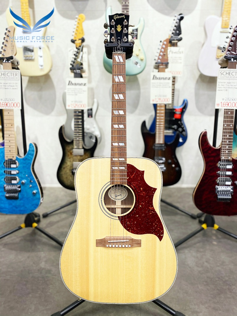 [특별세일] Gibson Montana 2019 Model Hummingbird Studio-Antique Natural w/L.R. Baggs VTC Pickup System(신품) - 10319017