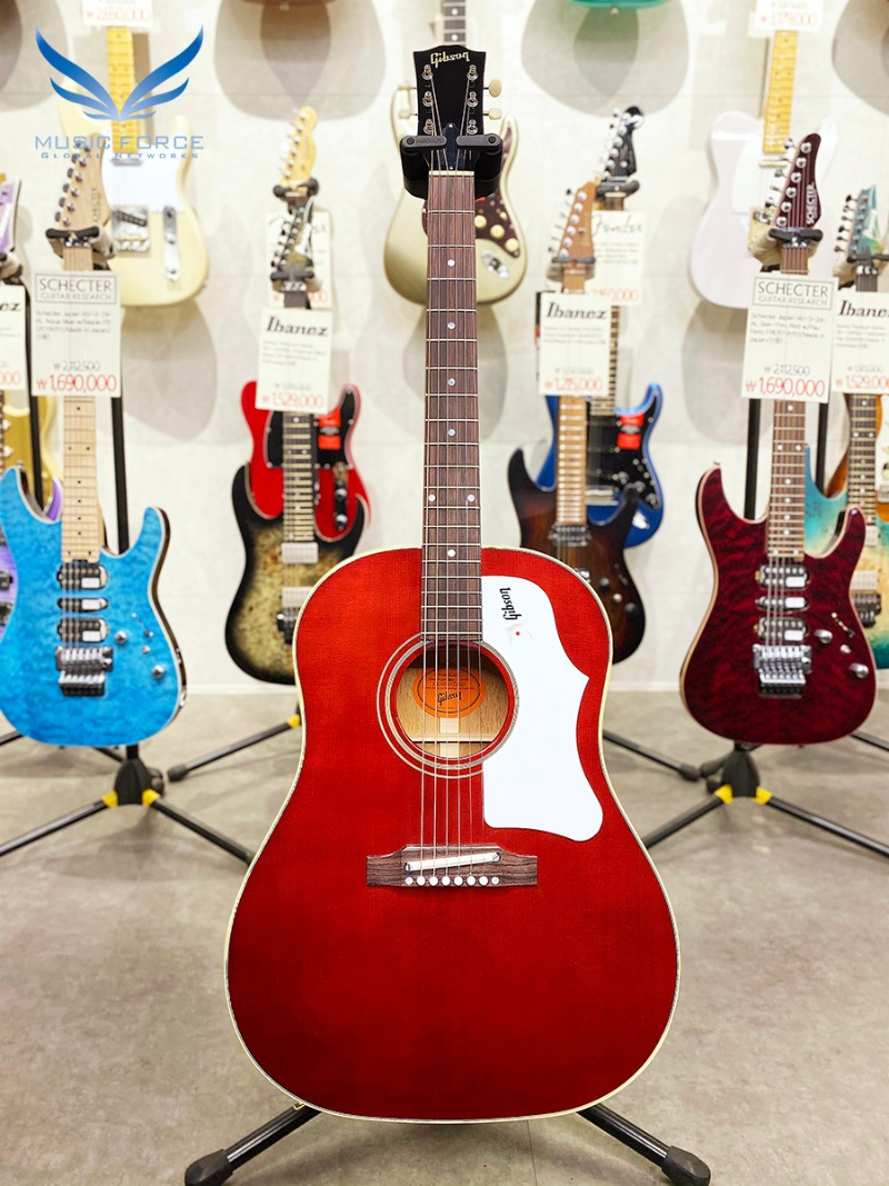 Gibson Montana 60s J-45 Original Adjustable Saddle-Wine Red(신품) - 깁슨 J45 오리지날 22790003